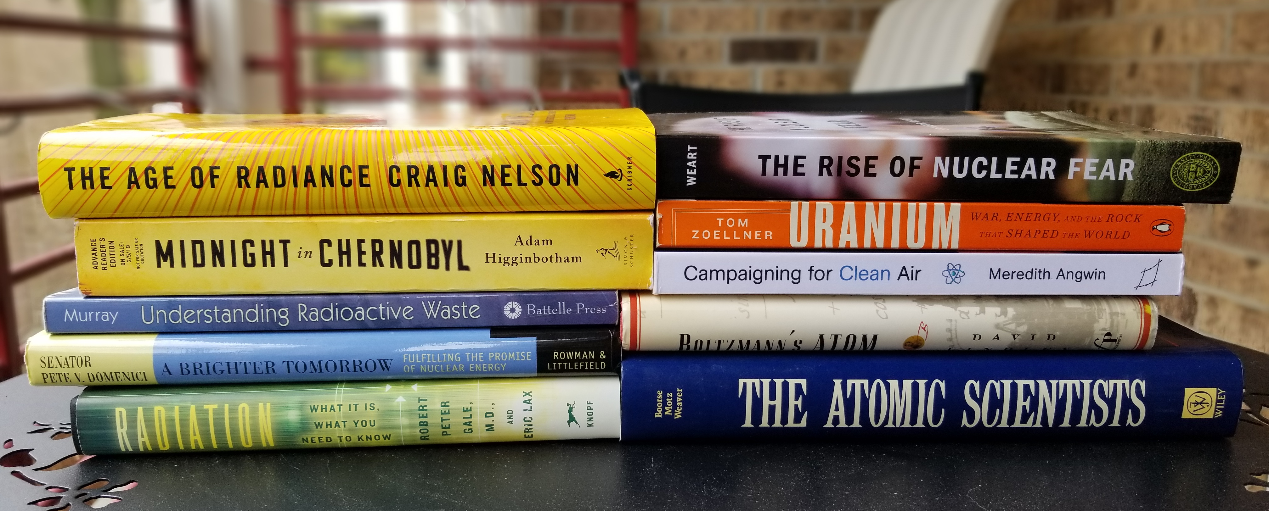 The 11 books on my summer nuclear reading list